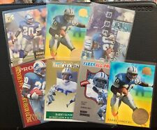 Lot of 7 Barry Sanders cards, Ultra and Fleer