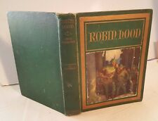 1917 ROBIN HOOD First 1st Edition Illustrated by N. C. WYETH Full Color Plates