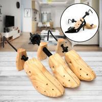 Mens Womens Wooden Adjustable 2-Way Shoe Stretcher Expander Shaper Tree 5-12  !