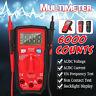 LCD Digital Multimeter DC/AC Voltage Tester OHM Hz Test Auto Range 6000 Counts