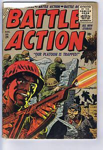 Battle Action #24 Atlas 1956