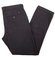 Tommy Hilfiger Men's Custom Fit Light Black Casual Pants - $0 Free Ship
