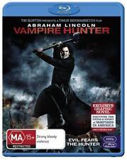 Abraham Lincoln: Vampire Hunter  - BLU-RAY - NEW Region B