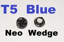 4 X Blue T5 Neo Wedge LED 79607-SHJ-S01 Twist lock Cluster Switch Dash Gauge