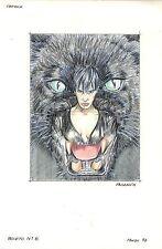 Monica Pasamon Originalzeichnung John Sinclair / MADDRAX Titelbild Norma Terror