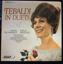 TEBALDI IN DUETS MARIO DEL MONACO CARLO BERGONZI RECORD