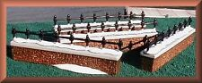 Department 56 #58076 Churchyard Fence Extensions - set of 4