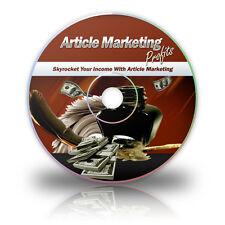 Article Marketing Profits ebook + videos on CD