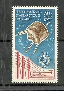 Französisch Antarktis - TAAF  32  UIT - Satellit Syncom   ** (mnh)