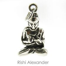 925 Sterling Silver Young Buddha Charm Made in USA