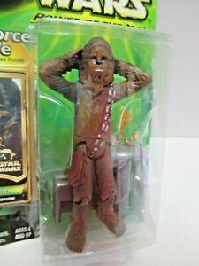 """NEW 3.75"""" Dejarik Champion Chewbacca (MOC) Star Wars POTJ (2000) Hasbro Jedi"""