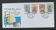 Tokelau/NZ-1982-Handicrafts FDC