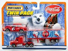 2000 Matchbox Convoy Twin Pack Alfa Romeo 155 / Mack CH600 / Coca-Cola