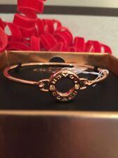 Coach Open Circle Bangle Bracelet F21620 Rose Gold Color J1