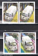 2013 Bulgarije 5096Dl-5097Dr Europa CEPT postvoertuigen - cars - auto's