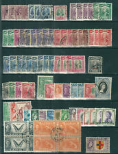 SARAWAK MALAYSIA small selection of good used from 1928 to 1957