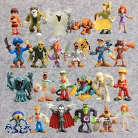 8X Scooby Doo Friends and Foes Action Figures Doll Toy Kids Grat Gift