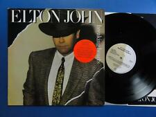 ELTON JOHN   BREAKING HEARTS Rocket 84 A2B1 UK orig LP EX/EX