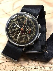 Vintage Chronograph Doxa Valjoux 22