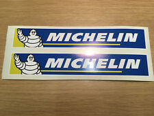 X2 Michelin Logo Stickers / Decals for Motor Bike Ideal for Swingarm
