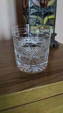 Cumbria Crystal Grasmere Double Old-Fashioned Whiskey Glass Downton Abbey