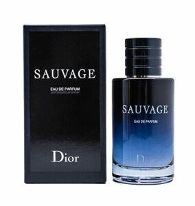 Sauvage by Christian Dior, 3.4 oz EDP Spray for Men Eau De Parfum