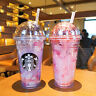 New Starbucks 2019 China Day Sakura Or Dawn Sakura 16oz Water Bottle 1pc