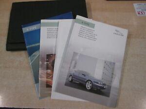 GENUINE JAGUAR X-TYPE HANDBOOK OWNERS MANUAL WALLET 2001-2007 COVERS DIESELS
