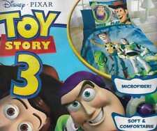 Disney Pixar Toy Story 3 Buzz Lightyear Woody TWIN Comforter + Pillow Sham NEW
