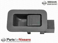 Genuine Nissan Titan Armada Front Door Lock Knob RH Pass Charcoal NEW OEM