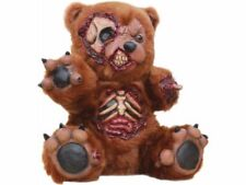 Zombie Teddy Bear Horror Prop Halloween Skeleton Body Parts Brown Creepy Scary