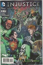 DC COMICS INJUSTICE YEAR TWO #5 JULY 2014 1ST PRINT NM