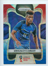2018 Panini Prizm World Cup Kingsley Coman Blue Red Wave France