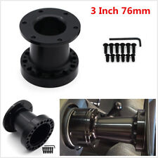 Universal 3 INCH Aluminum Spacer For Steering Wheel Hub Adapter Boss Kit 76mm