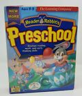 Reader Rabbits PRESCHOOL Reading Math Early Thinking Skills Ages 3-5 CD-Rom New