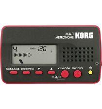 Metrónomo Korg MA-1 negro y rojo