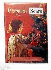 "Sear Christmas Wish Book 1966 Fridge MAGNET  2"" x 3"" art NOSTALGIC vintage"