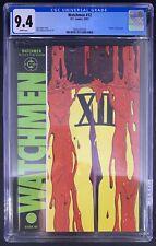 """Watchmen #12 CGC 9.4 1/87 3826551018 - """"Death"""" of Rorschach"""