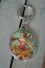 Isabella Fiore Keychain Gemini Horoscope