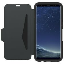 Otterbox Strada Leather Folio Case for Samsung Galaxy S8 - Black