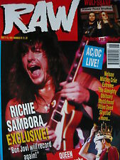 RAW MAGAZINE 70 - RICHIE SAMBORA - AC/DC - MOTORHEAD