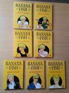 Banana Fish Band 1-7 im Paket