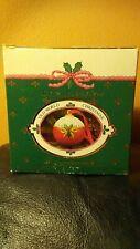 1989 Vintage Christmas Hand Decorated Fragranced Ceramic Pomander- Fritz & Floyd