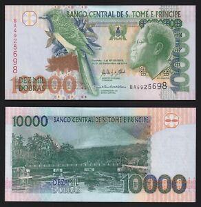 Sao Tomé e Principe 10000 dobras 2013  FDS/UNC  C-08