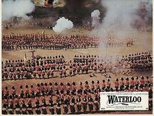 ROD STEIGER CHRISTOPHER PLUMMER WATERLOO 1970 12 VINTAGE LOBBY CARDS LOT
