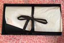 NWT Victoria's Secret Black Jewelry Travel Case Bag  W/ Box $65 Gift Bridesmaid