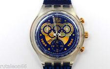 SWATCH original Swiss made CHRONO SCZ101 quartz watch New old stock