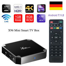 X96 Mini Smart TV Box 4K WiFi HD HDMI 8GB Media IPTV Box + Infrarotfernbedienung