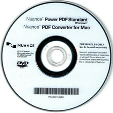 NUANCE Power PDF Standard  / WINDOWS (inkl. PDF Converter for MAC) CD