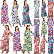 Polyester Stretch Women's Maxi Dresses